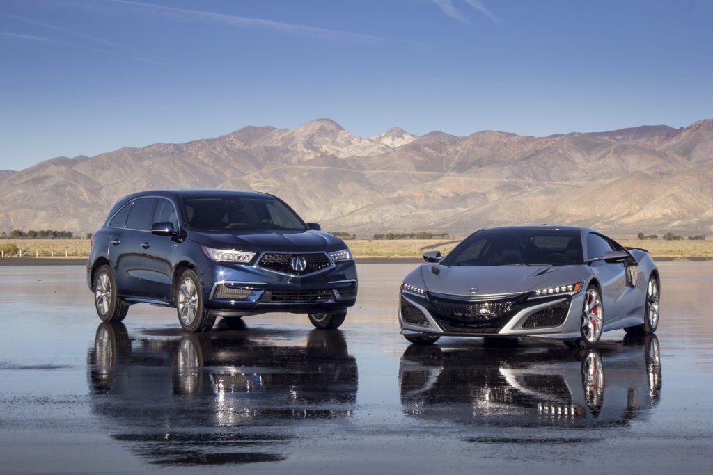 Acura MDX Sport Hybrid with NSX