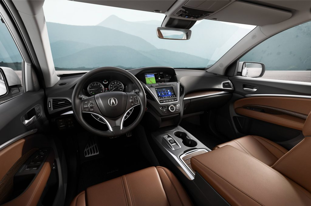 Acura MDX interior lux