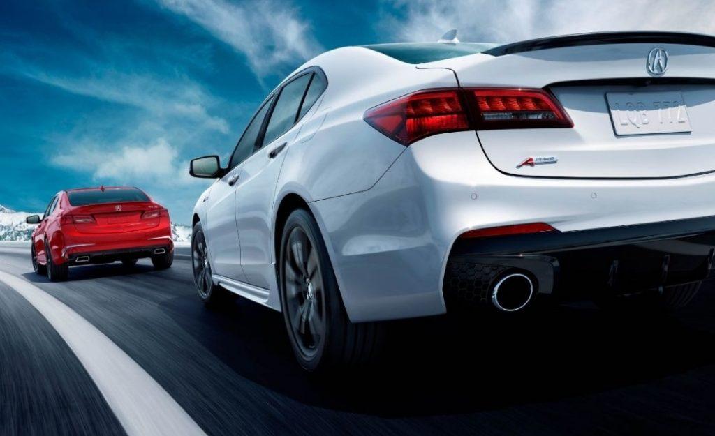 Acura TLX 2018 white