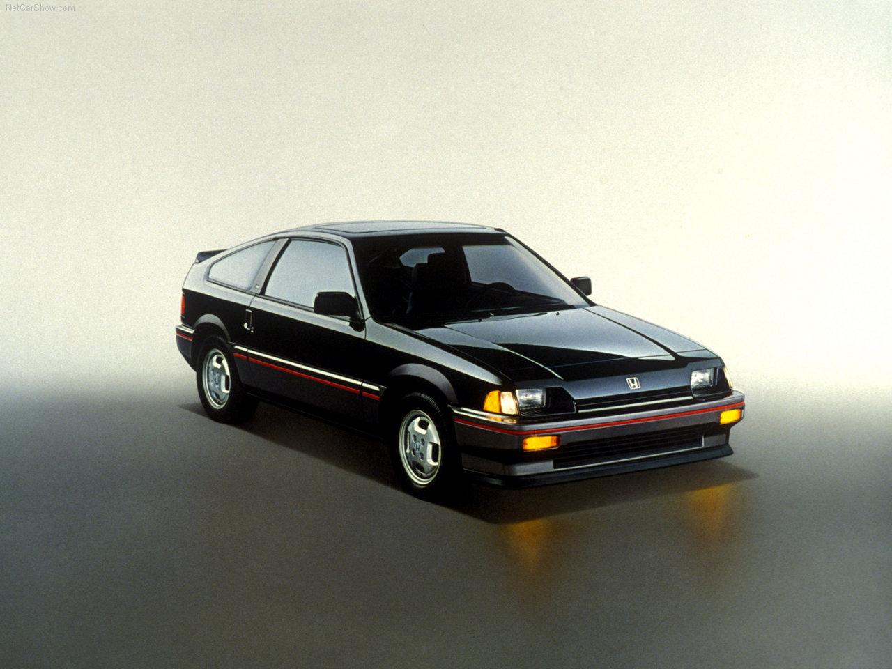 Honda CRX первого поколения