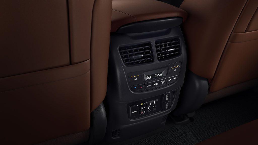 Acura mdx console