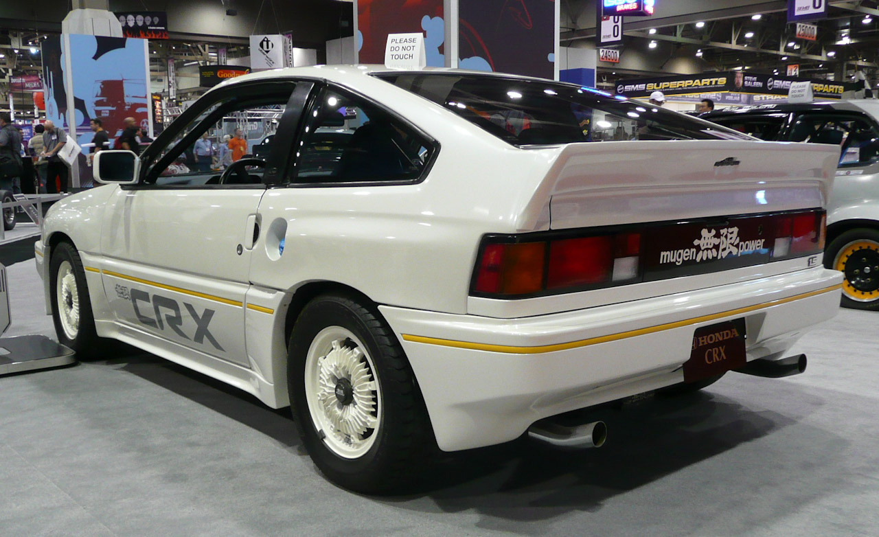 1984 Honda CRX Mugen prototype