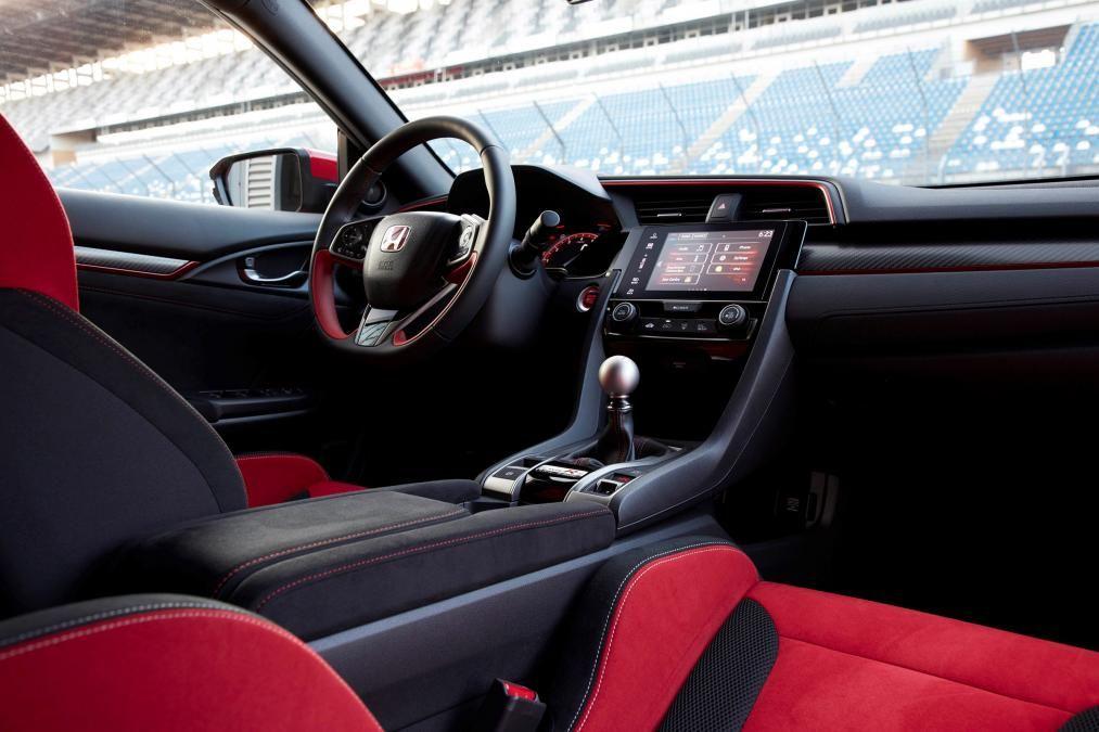 Honda civic type r interior 2017