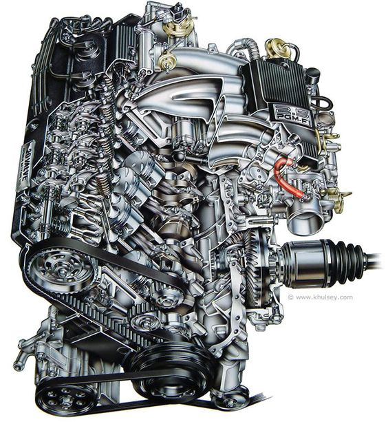 Honda двигатель g20