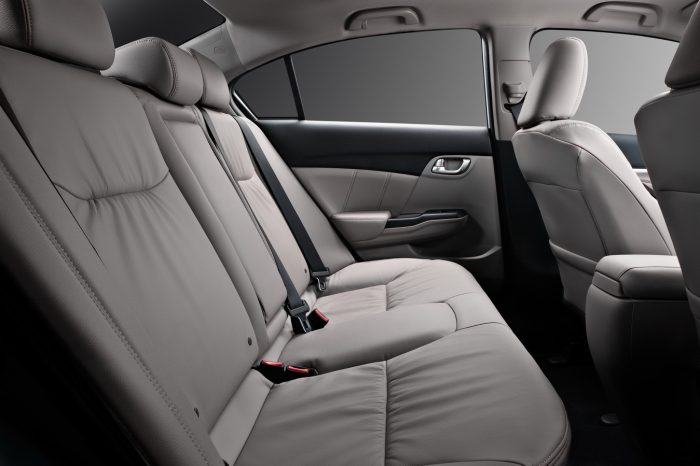 Салон Honda Civic 9