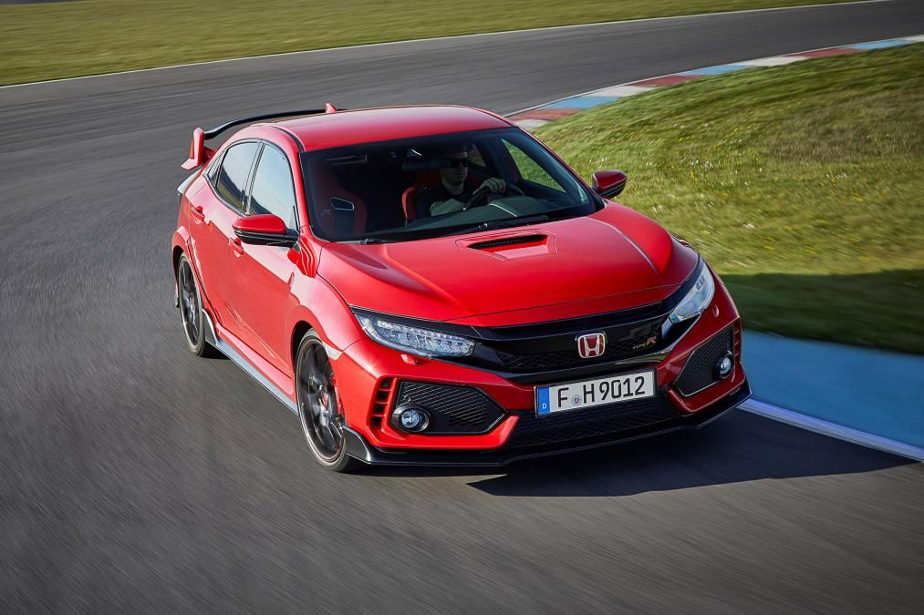Honda civic type r 2017 red