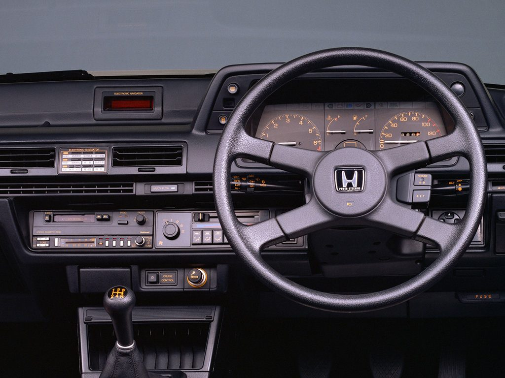 honda vigor 1983 interior