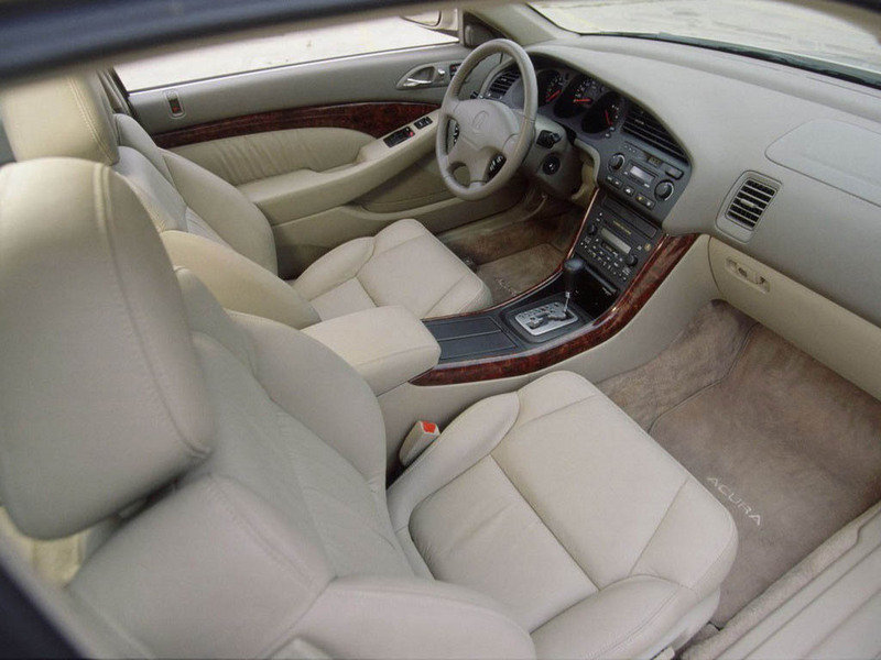 Acura CL interior