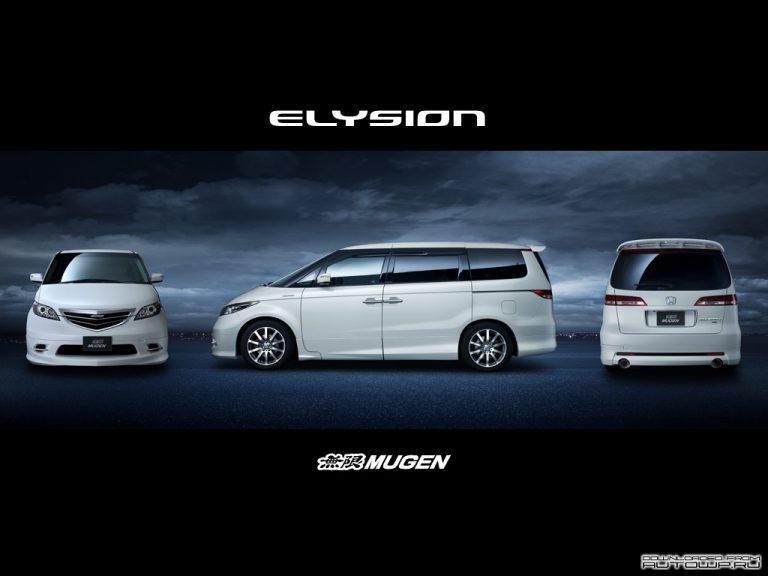 Honda Elysion - Лучший из лучших (левый руль) (2001-2016 ...